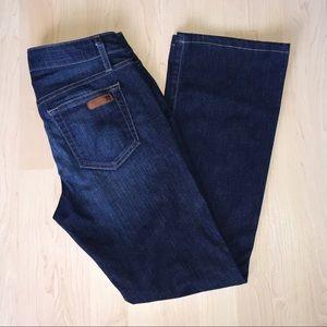 Joe's Skinny Bootcut Jeans Size W 27 Dark EUC!!!